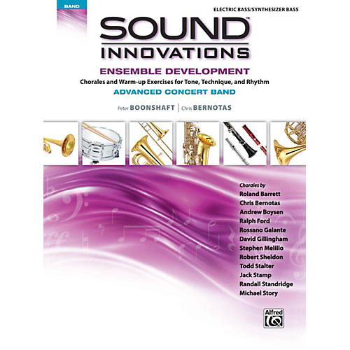Alfred Sound Innovations Concert Band Ensemble Development Advanced Electric Bass-thumbnail