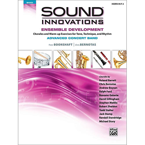 Alfred Sound Innovations Concert Band Ensemble Development Advanced French Horn 2