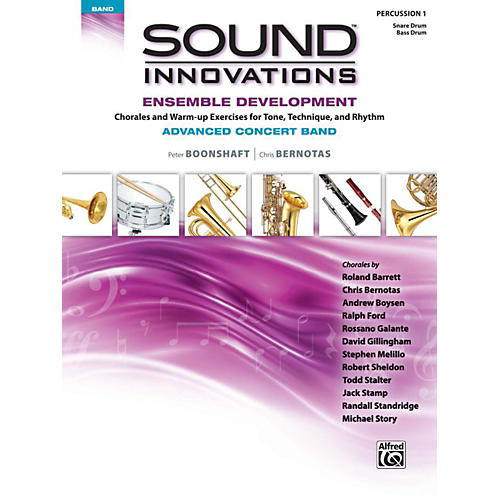 Alfred Sound Innovations Concert Band Ensemble Development Advanced Percussion 1-thumbnail