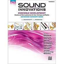 Alfred Sound Innovations Concert Band Ensemble Development Advanced Trombone 3