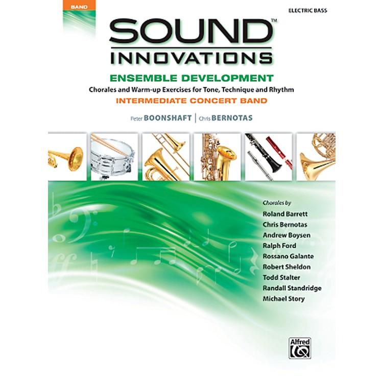 AlfredSound Innovations Concert Band Ensemble Development Electric Bass Book