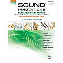 Alfred Sound Innovations Concert Band Ensemble Development Percussion 1 Book