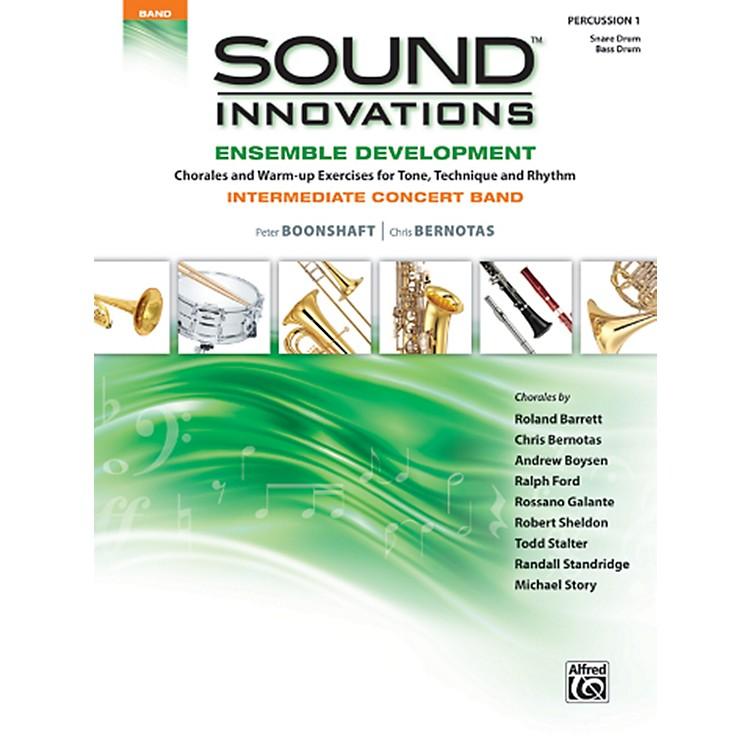 AlfredSound Innovations Concert Band Ensemble Development Percussion 1 Book