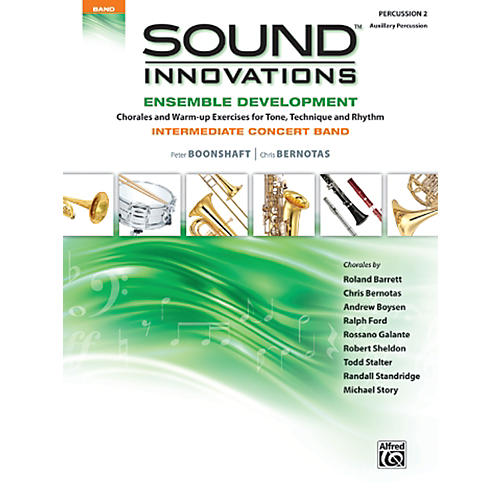 Alfred Sound Innovations Concert Band Ensemble Development Percussion 2 Book-thumbnail