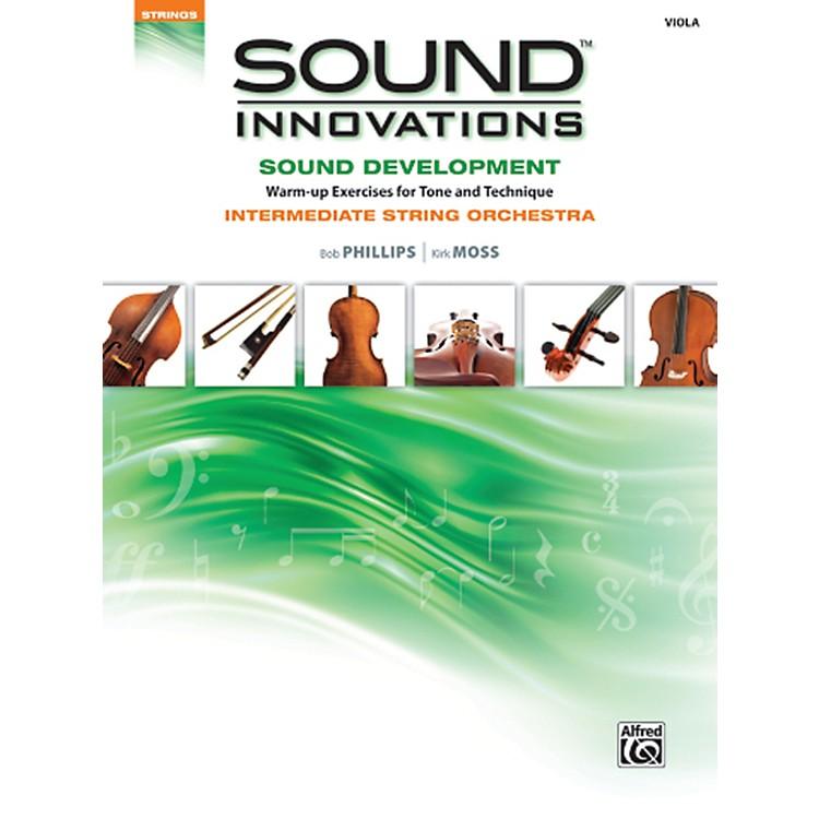 AlfredSound Innovations Sound Development Viola Book