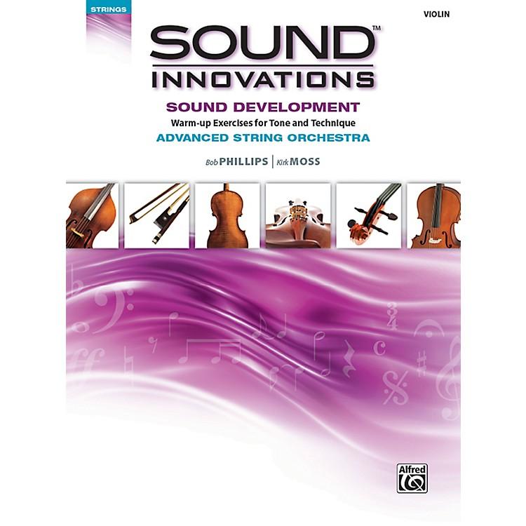 AlfredSound Innovations String Orchestra Sound Development Advanced Violin Book