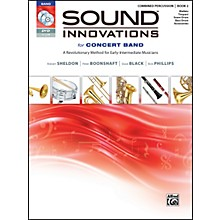 Alfred Sound Innovations for Concert Band Book 2 Combined Percussion Book CD/DVD