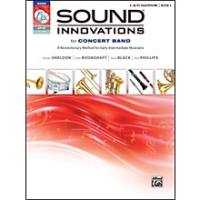 Alfred Sound Innovations for Concert Band Book 2 E-Flat Alto Saxophone Book CD/DVD