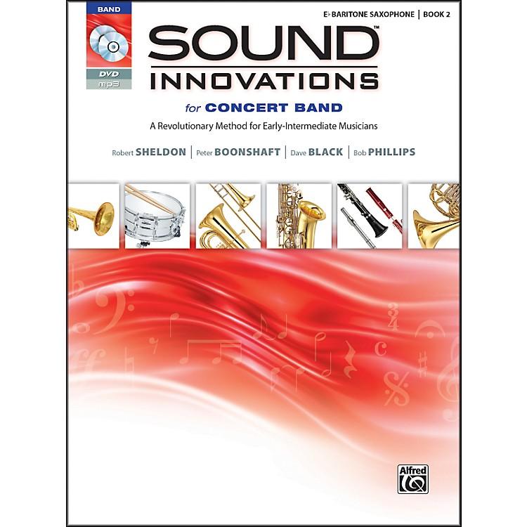 AlfredSound Innovations for Concert Band Book 2 E-Flat Baritone Sax Book CD/DVD