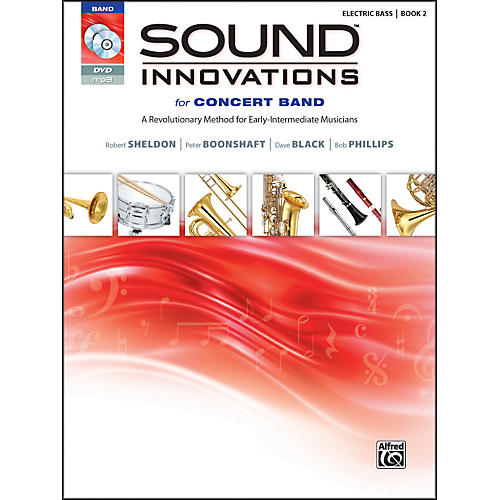 Alfred Sound Innovations for Concert Band Book 2 Electric Bass Book CD/DVD-thumbnail