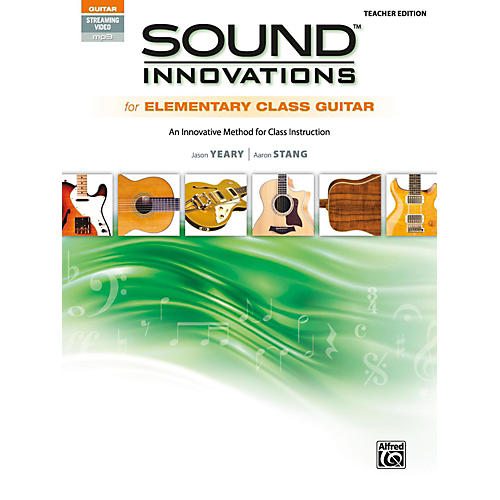 Alfred Sound Innovations for Elementary Class Guitar Teacher Edition Book & Online Audio & Video-thumbnail