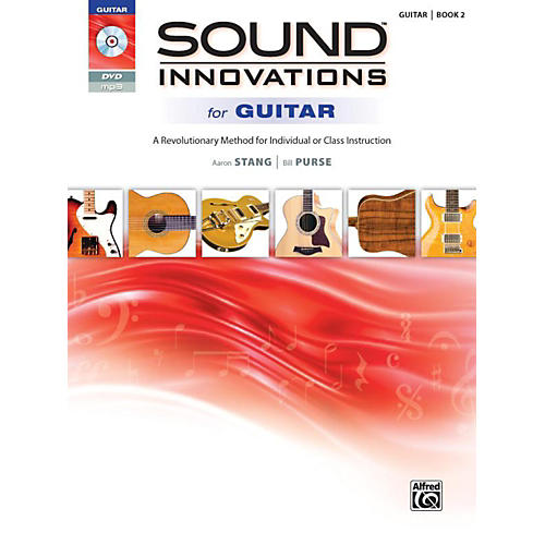 Alfred Sound Innovations for Guitar 2 Book & DVD-thumbnail