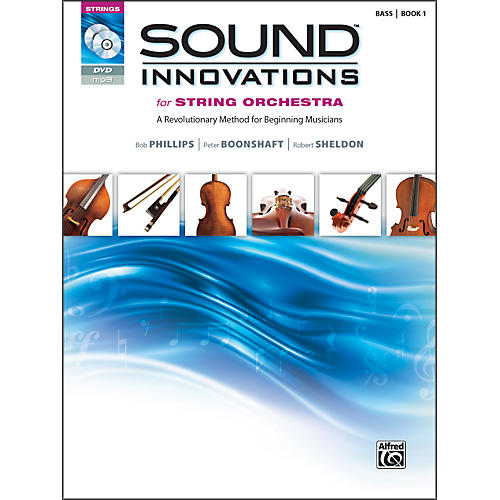 Alfred Sound Innovations for String Orchestra Book 1 Bass Book CD/ DVD