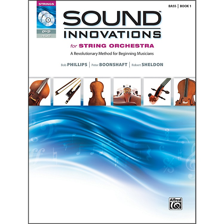 AlfredSound Innovations for String Orchestra Book 1 Bass Book CD/ DVD