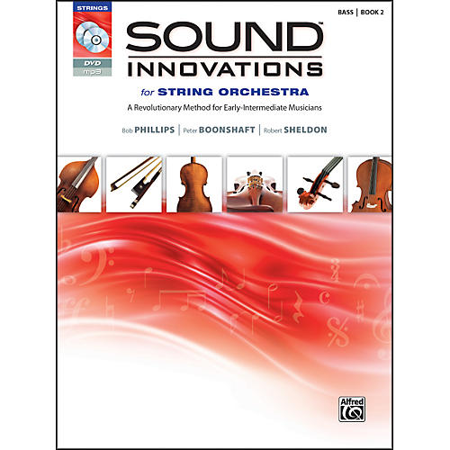 Alfred Sound Innovations for String Orchestra Book 2 Bass Book CD/DVD