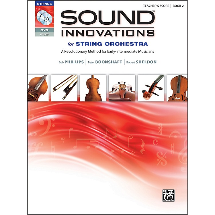 Alfred Sound Innovations for String Orchestra Book 2 Conductor's Score Book
