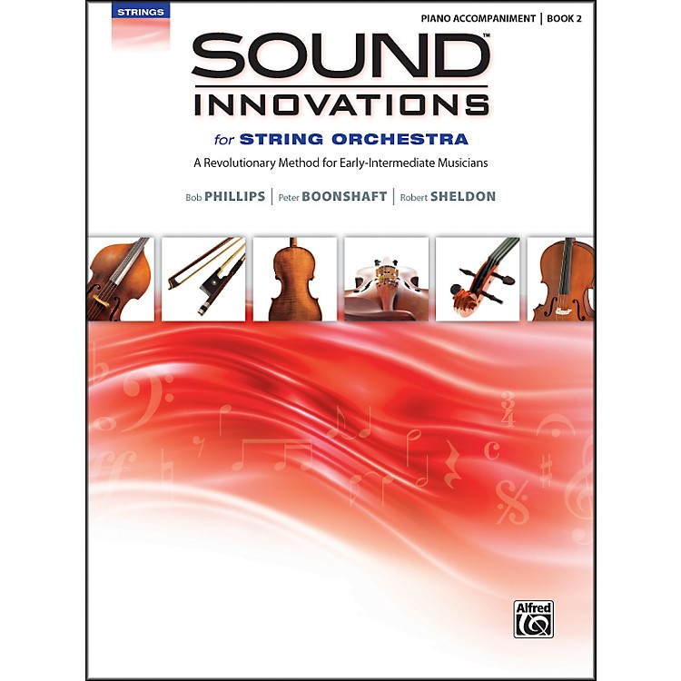 AlfredSound Innovations for String Orchestra Book 2 Piano Acc. Book Only