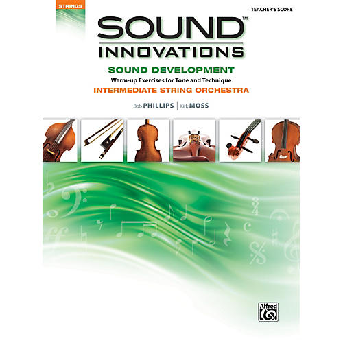 Alfred Sound Innovations for String Orchestra Sound Development Conductor's Score-thumbnail