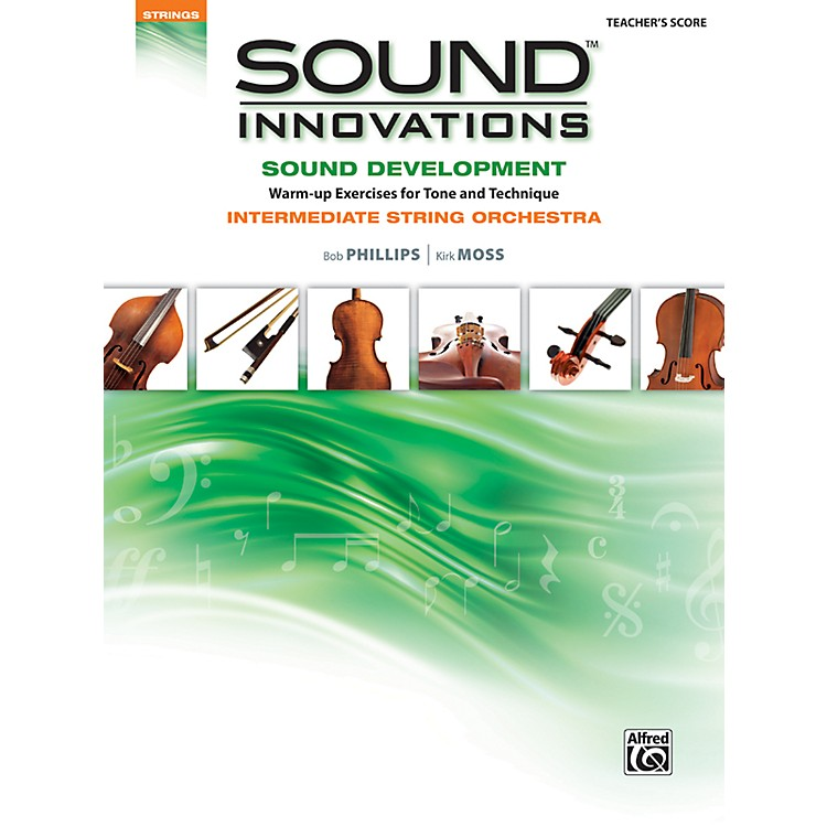 AlfredSound Innovations for String Orchestra Sound Development Conductor's Score