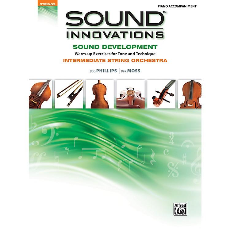 AlfredSound Innovations for String Orchestra Sound Development Piano Accom. Book