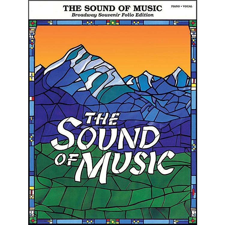 Hal LeonardSound Of Music Broadway Souvenir Folio arranged for piano, vocal, and guitar (P/V/G)
