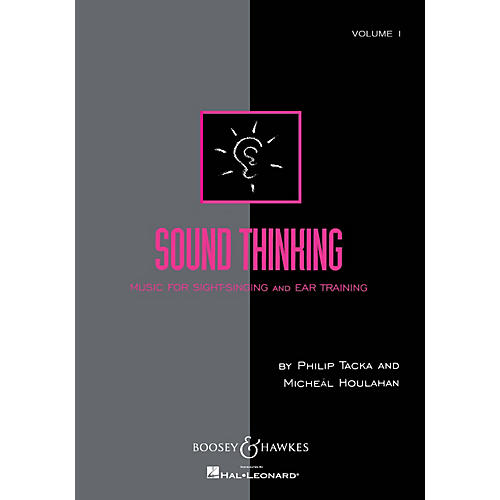 Boosey and Hawkes Sound Thinking - Volume I (Music for Sight-Singing and Ear Training) Composed by Micheál Houlahan-thumbnail