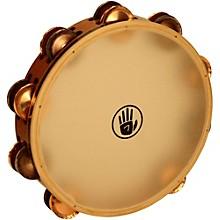 "Black Swamp Percussion SoundArt Series 10"" Tambourine Double Row with Remo Head Phosphor Bronze TC1S"
