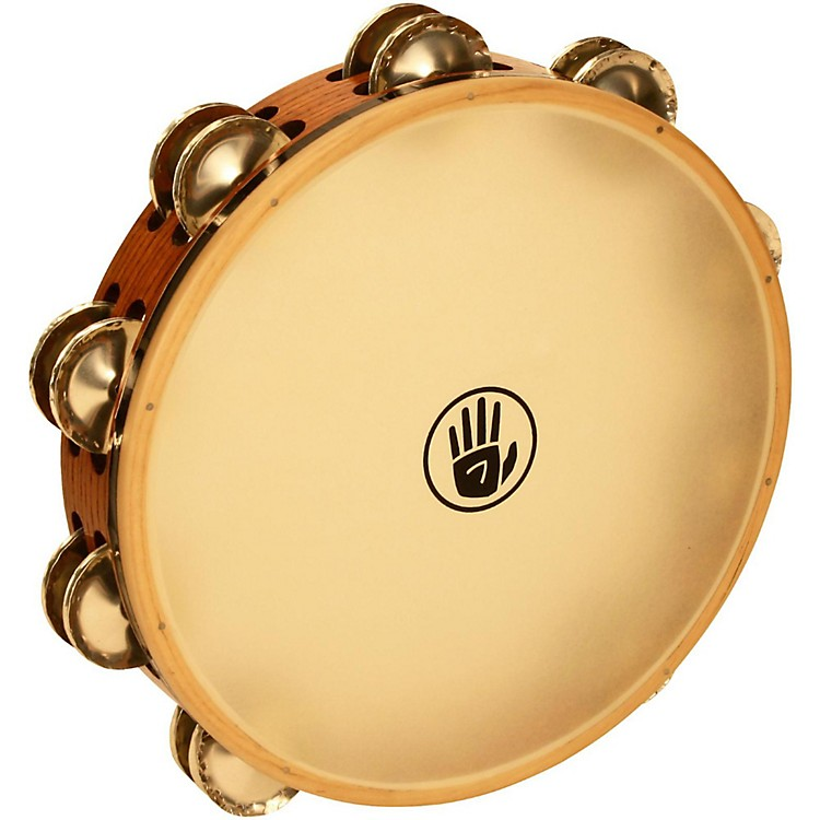 Black Swamp PercussionSoundArt Series 10 inch Tambourine Double Row with Calf Head