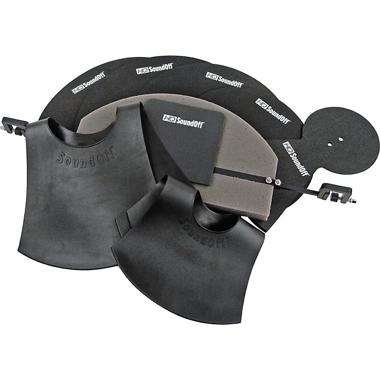 HQ Percussion SoundOff Fusion Drum and Cymbal Mute Set