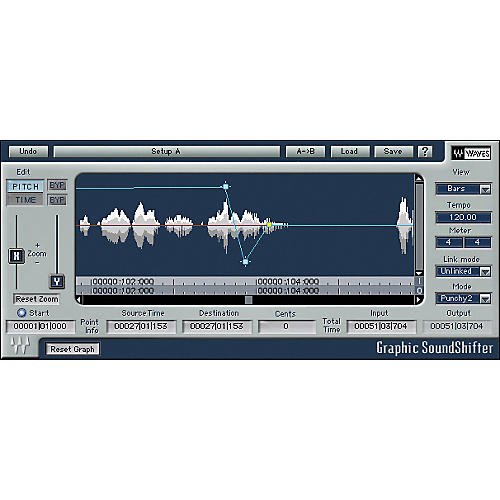 Waves SoundShifter Native/TDM/SG Software Download