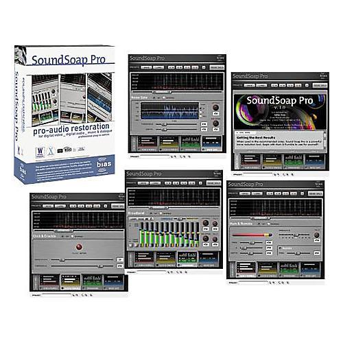 Bias SoundSoap Pro Audio Restoration Software