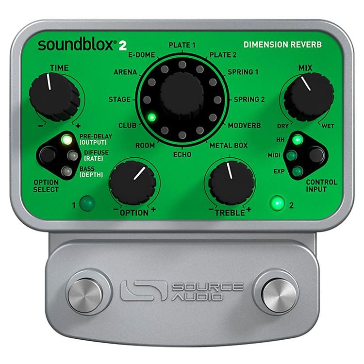 Source AudioSoundblox 2 Dimension Reverb