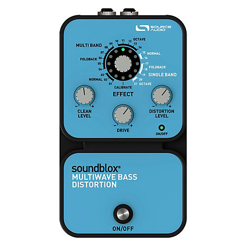 Source Audio Soundblox Multi Wave Bass Distortion-thumbnail