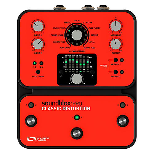 Source Audio Soundblox Pro Classic Distortion | Musician's ...