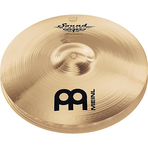 Meinl Soundcaster Custom Medium Hi-Hat Cymbals 14 in.