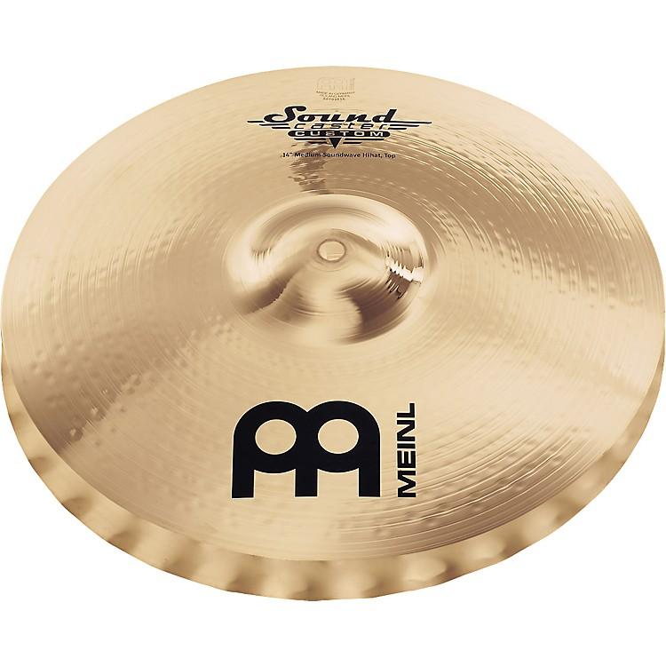 MeinlSoundcaster Custom Medium Soundwave Hi-Hat Cymbals14