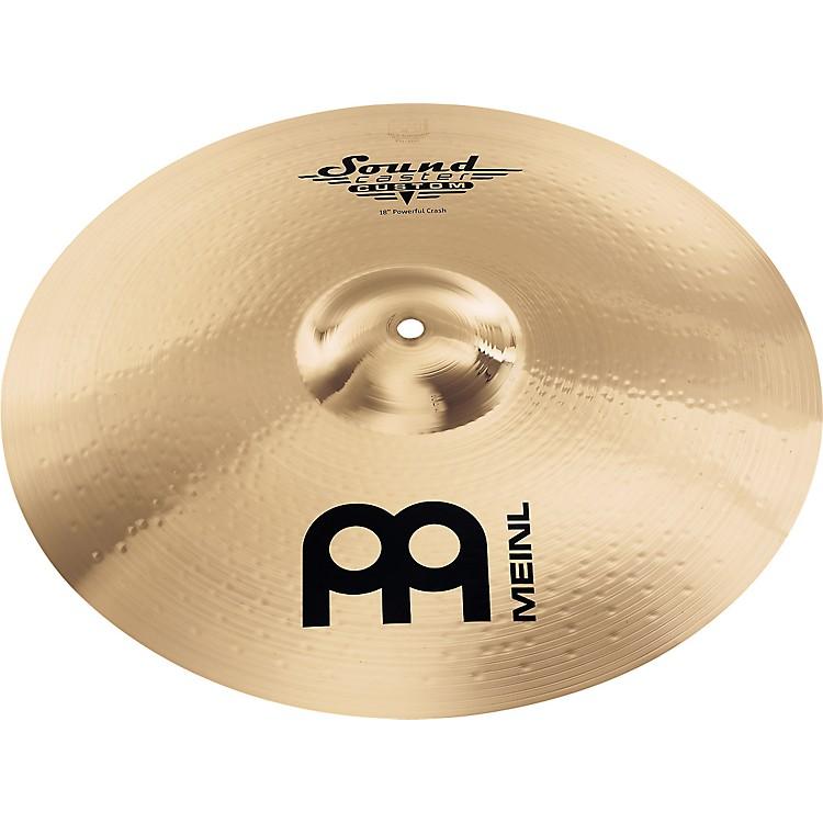 MeinlSoundcaster Custom Powerful Crash Cymbal16