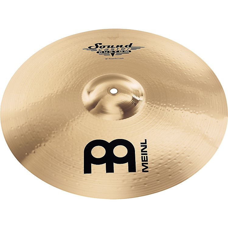 Meinl Soundcaster Custom Powerful Crash Cymbal 18