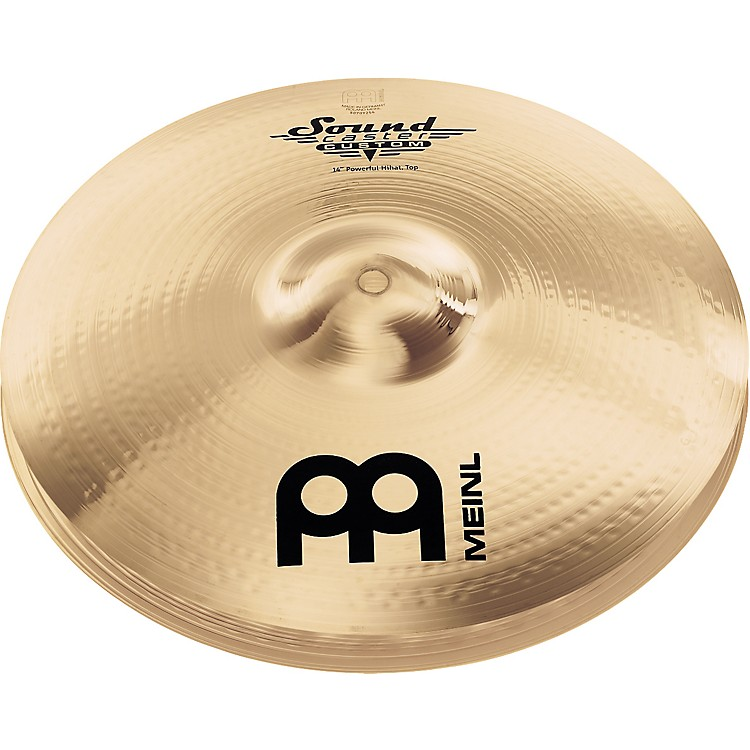Meinl Soundcaster Custom Powerful Hi-Hat Cymbals 14