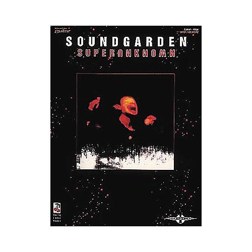 Hal Leonard Soundgarden Superunknown Guitar Tab Songbook