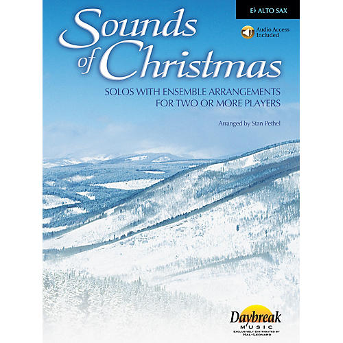 Daybreak Music Sounds of Christmas (Solos with Ensemble Arrangements for Two or More Players) Alto Sax arranged-thumbnail