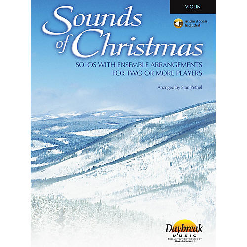 Daybreak Music Sounds of Christmas (Solos with Ensemble Arrangements for Two or More Players) Violin-thumbnail