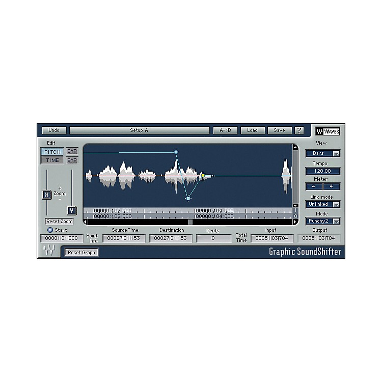 Waves Soundshifter Native Software  Download