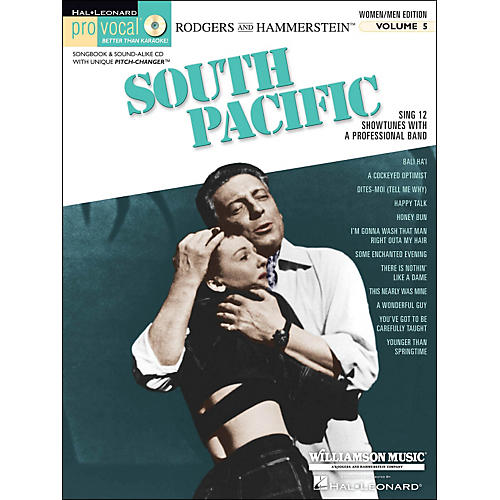 Hal Leonard South Pacific - Pro Vocal Songbook & CD for Women/Men Volume 5-thumbnail