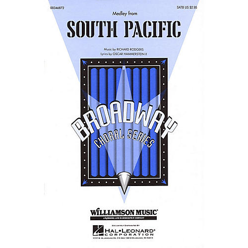 Hal Leonard South Pacific (Medley) SATB arranged by Clay Warnick-thumbnail