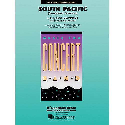 Hal Leonard South Pacific (Symphonic Scenario) Concert Band Level 4-5 Arranged by Robert Russell Bennett-thumbnail