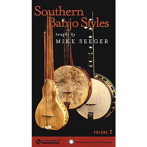 Homespun Southern Banjo Styles - Volume 2 (VHS)