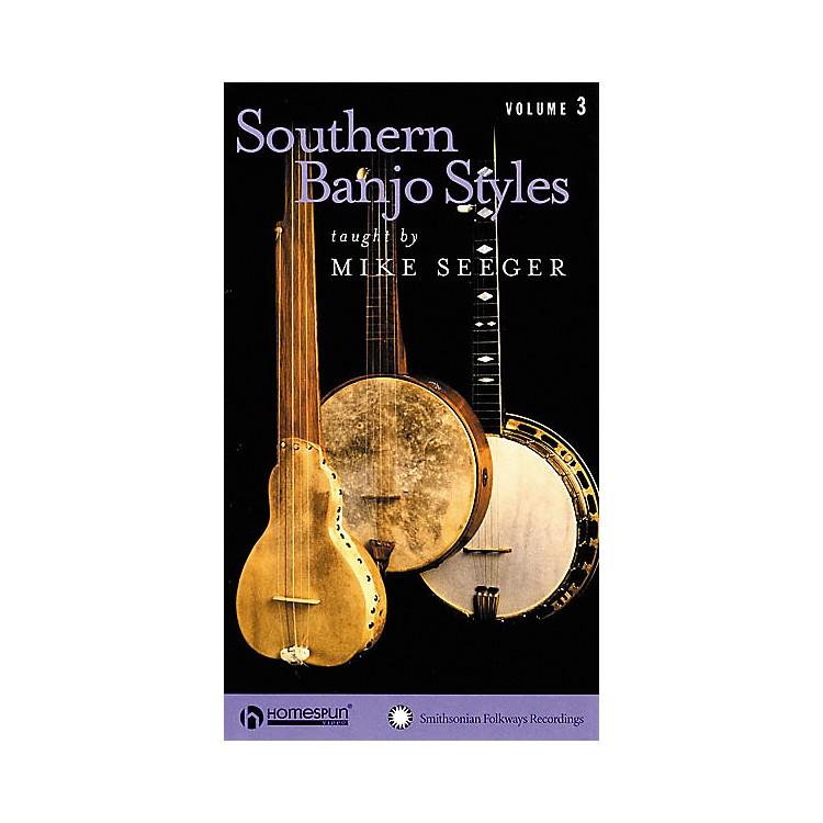 HomespunSouthern Banjo Styles - Volume 3 (VHS)