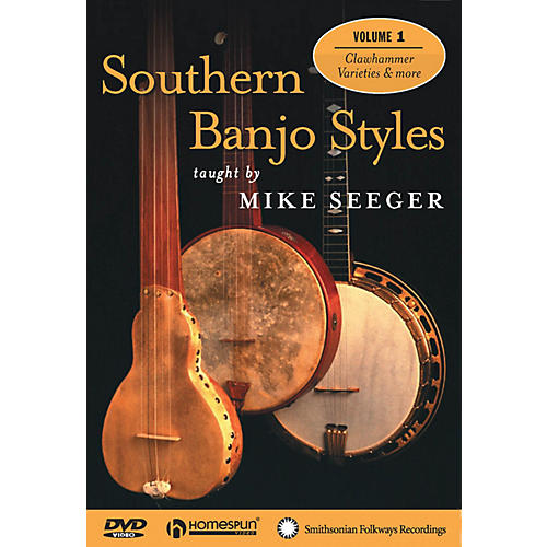 Homespun Southern Banjo Styles (DVD One) Homespun Tapes Series Performed by Mike Seeger-thumbnail