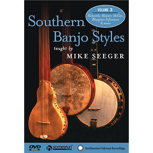 Homespun Southern Banjo Styles (DVD Three) DVD/Instructional/Folk Instrmt Series DVD